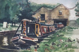Canal Boats - Whalley Bridge